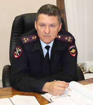 Начальник УМВД по Фрунзенскому району Санкт-Петербурга полковник Андрей Александрович Литвинов